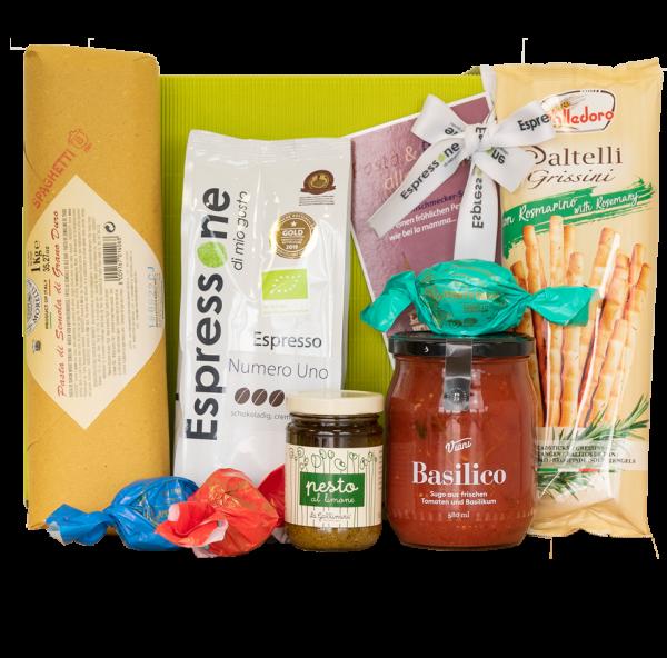 Geschenkset Pasta und Pesto alla Mamma 0