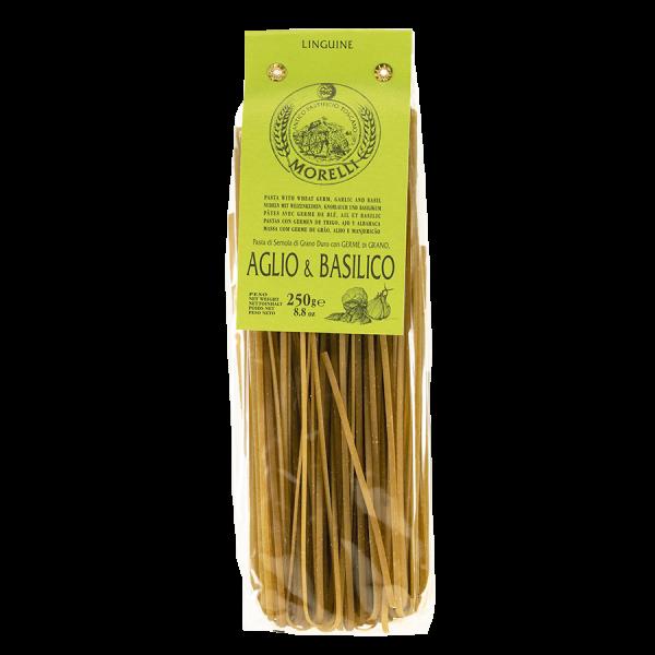 Morelli Linguine aglio und basilico Artikelbild Linguine aglio und basilico
