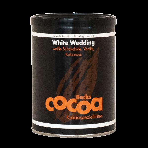 Becks Cocoa White Wedding Kakao mit weisser Schokolade Vanille und Kokosnuss 0