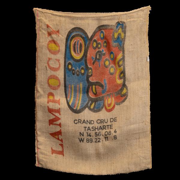 Kaffeesack Guatemala Lampocoy Lampocoy Kaffeesack Rueckseite