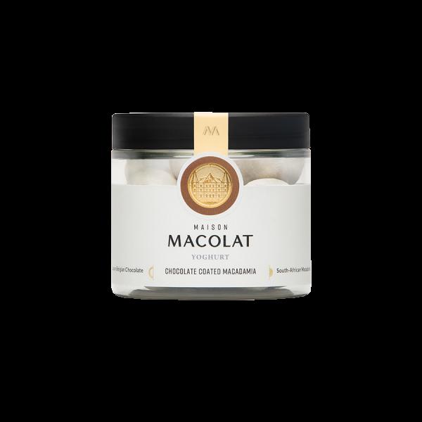 Macadamia Nuesse in Schokolade und Joghurt Artikelbild Yoghurt