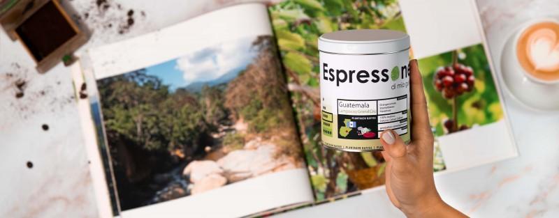 Espressone Plantagen Kaffee Guatemala Lampocoy Grand Cru
