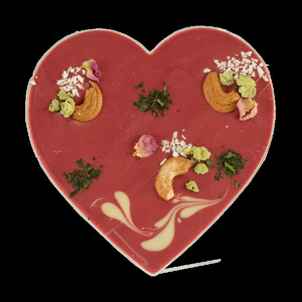 Zotter Mixing Herz mit Himbeer Kokos Artikelbild