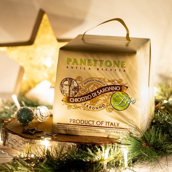 Italienische Panettone klassisch bio Moodbild