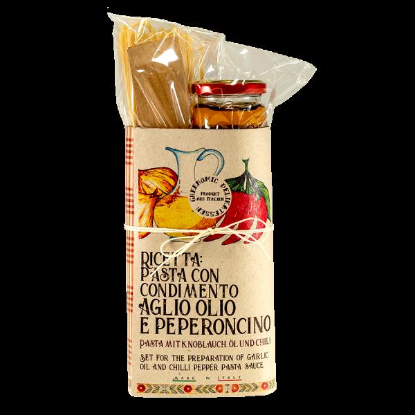 Pasta Kit Aglio olio e peperoncino Artikelbild Pasta Kit Aglio olio e peperoncini