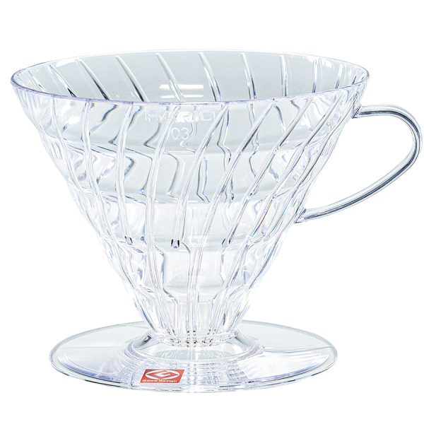 Hario V60 Coffee Dripper Clear 03 Kaffeefilter Artikelbild
