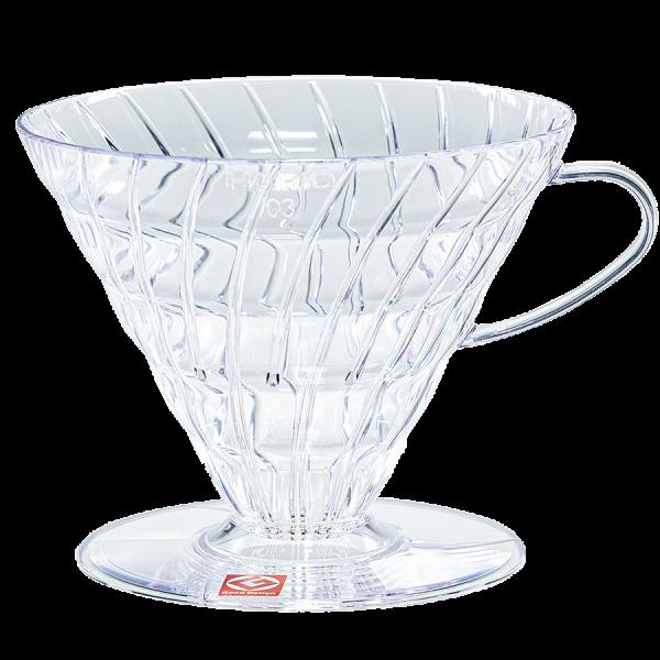 Hario V60 Coffee Dripper Clear 03 Kaffeefilter Artikelbild