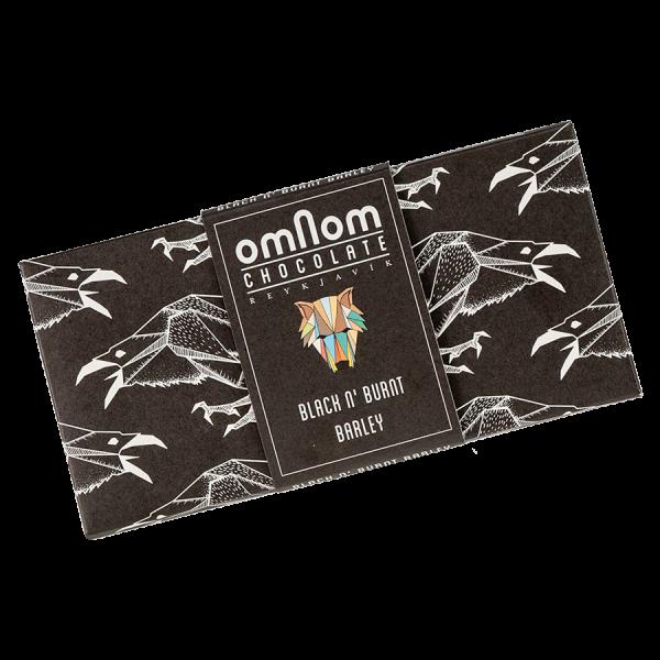OMNOM Weisse Schokolade und Schwarzgebrannte Gerste Artikelbild