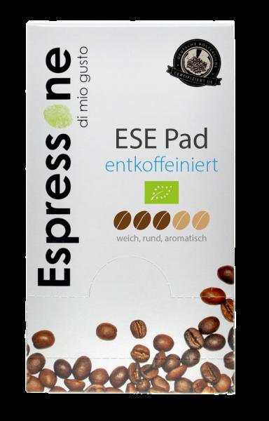 Entkoffeiniert ESE Pads