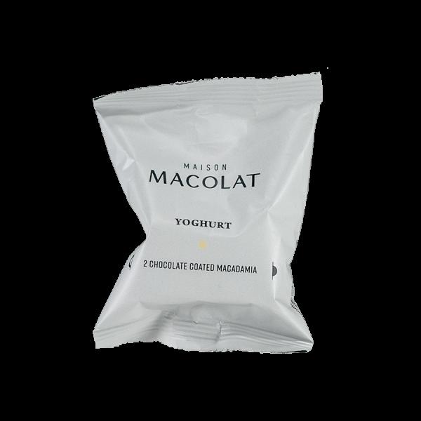 Macadamia Nuesse in Schokolade und Joghurt Artikelbild Yoghurt Flow Wrap