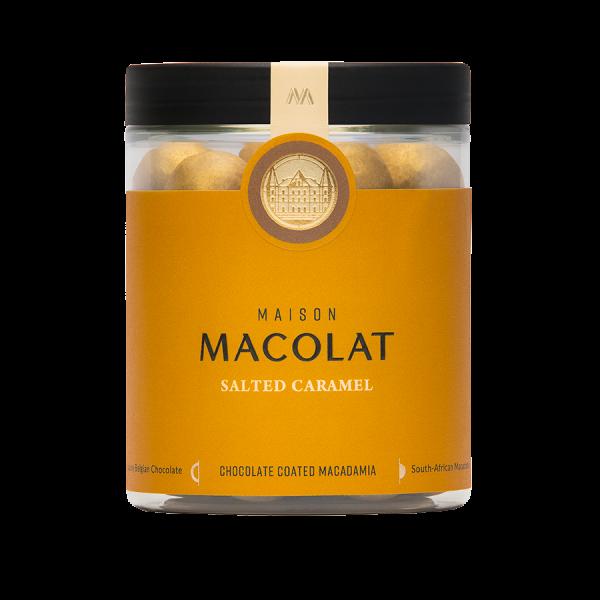 Macadamia Nuesse mit gesalzenem Karamell Artikelbild