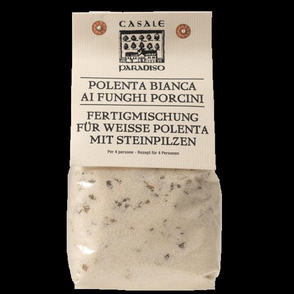 Weisse Polenta mit Steinpilzen 0