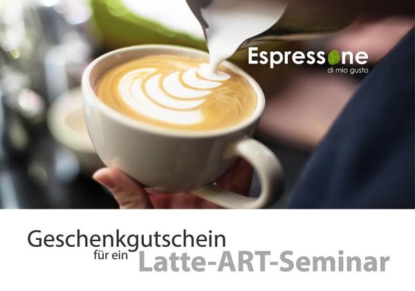 Gutschein Latte Art Seminar 0