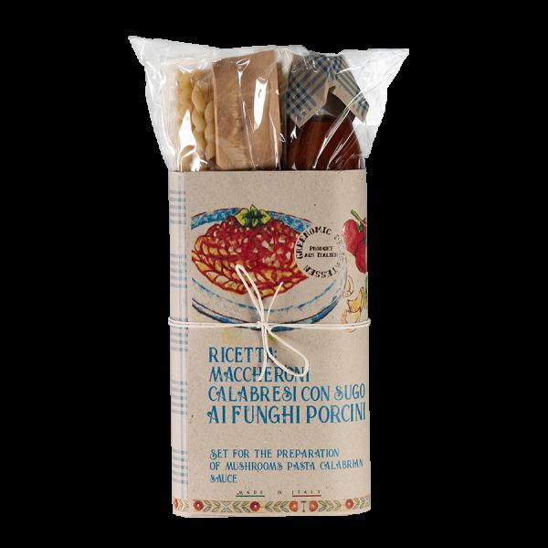 Pasta Kit Fussili Calabresi Ai Funghi Porcini 0