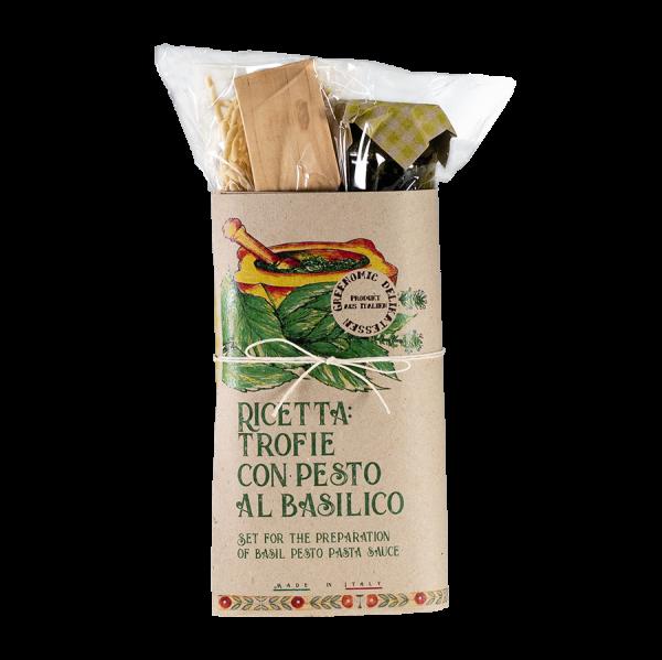 Pasta Kit Trofie con Pesto al Basilico Artikelbild Basilico