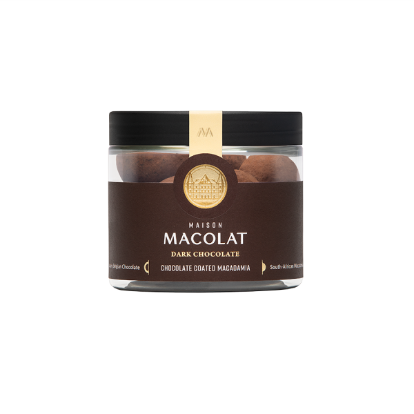 Macadamia Nuesse in dunkler Schokolade Artikelbild Dunkle Schokolade