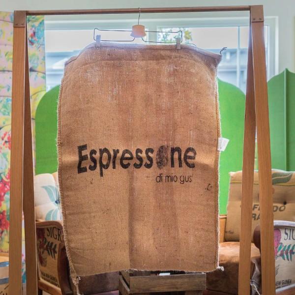 Kaffeesack mit Espressone Logo Vorderseite