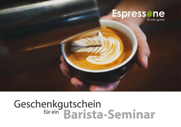 Gutschein Barista Seminar 8