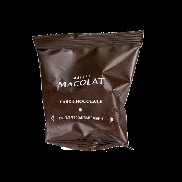 Macadamia Nuesse in dunkler Schokolade Artikelbild Dark Flow Wrap