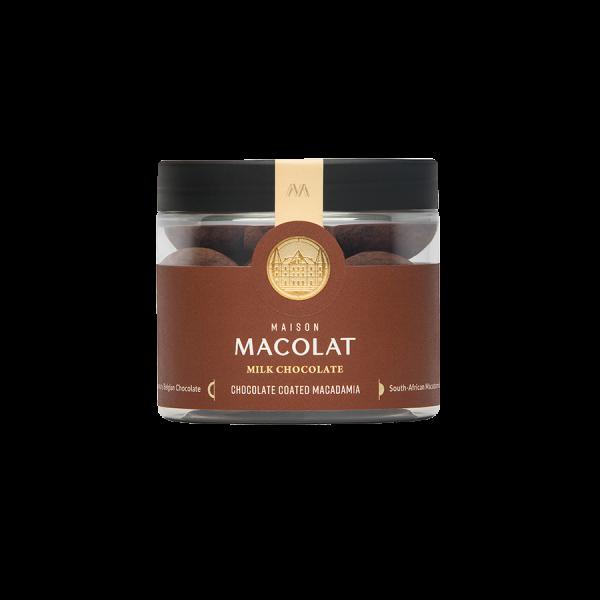 Macadamia Nuesse in Vollmilchschokolade Artikelbild Milk Chocolate