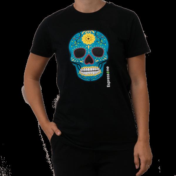 Unisex T Shirt Totenkopf schwarz Artikelbild