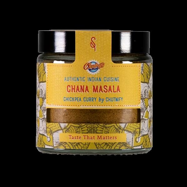 Chana Masala Kichererbsen Curry Artikelbild