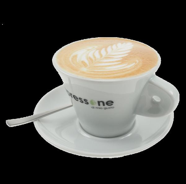 Espressone Cappuccino Tasse mit Untertasse 0