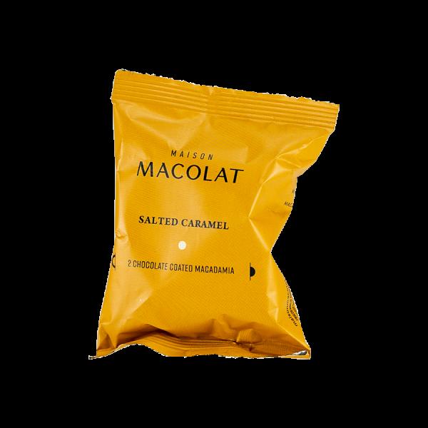 Macadamia Nuesse mit gesalzenem Karamell Artikelbild Salted Caramel Flow Wrap